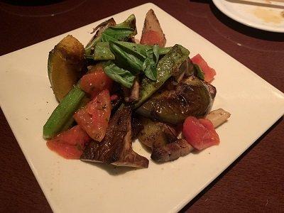 姫路 ネイバーフットバー アクア 焼き野菜