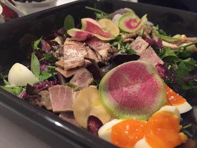 姫路 Cafe Rei 豚肉のサラダ