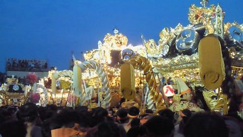 姫路 灘のけんか祭り 神輿練合せ