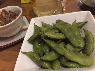 姫路 のれん街 おでんと串かつ姫路のお店 茶豆