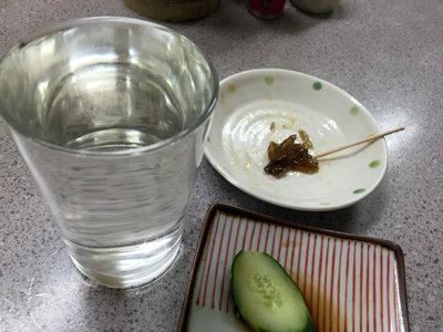 加古川 立吞み 岩崎商店 コップ酒
