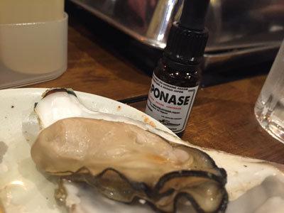 明石 牡蠣 タコ 居酒屋 明石 蒸し牡蠣 ソース