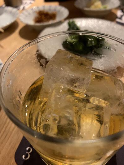 加古川 小料理酒房 みやもと 竹鶴ロック