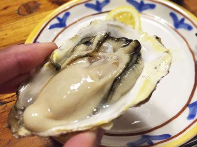 赤穂 レストラン 初音 生牡蠣 レモン