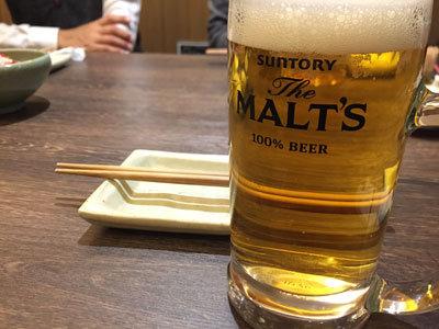 姫路 韓国料理 ぴなり 生ビール