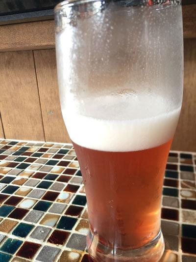 塩屋 CAFÉ SAATCHI ブルーベリービール