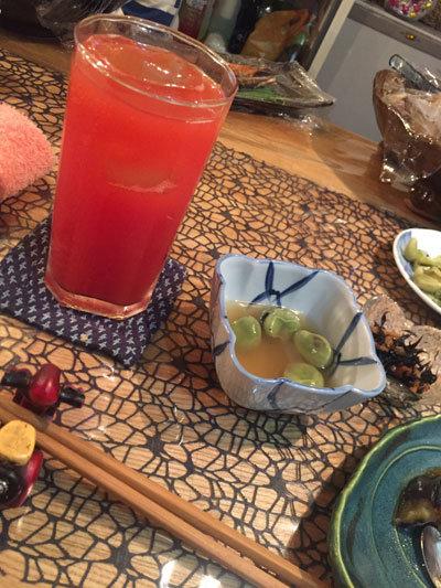 姫路 おばんざい料理 eん トマト チューハイ
