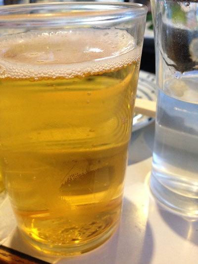 淡路 由良 鉄板焼き ほたる ビール