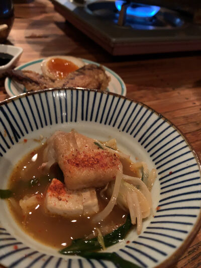 明石 麺や 一福 もつ鍋コース