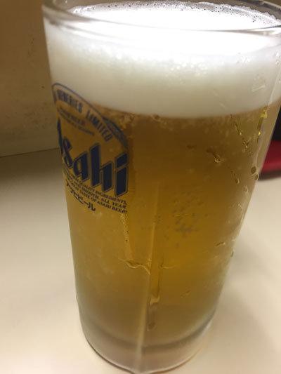 明石 立呑み 呑べえ 生ビール