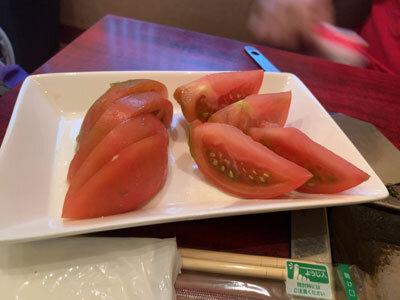 姫路 妻鹿 お好み焼き えのき トマト