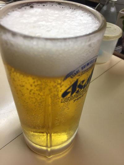 明石 魚の棚 呑べえ 生ビール