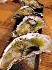 赤穂 坂越 牡蠣 かましま 焼かき バジル