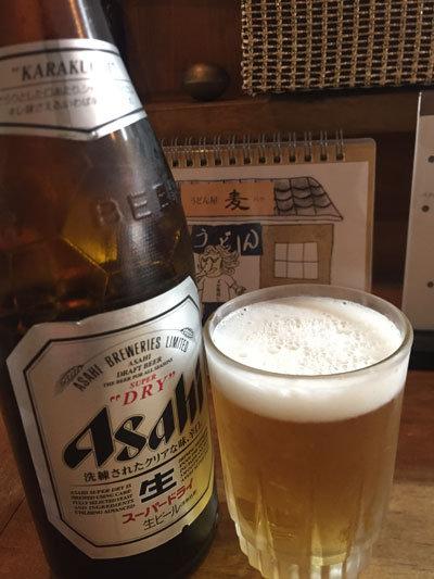 姫路 うどん 麦 バク ビール