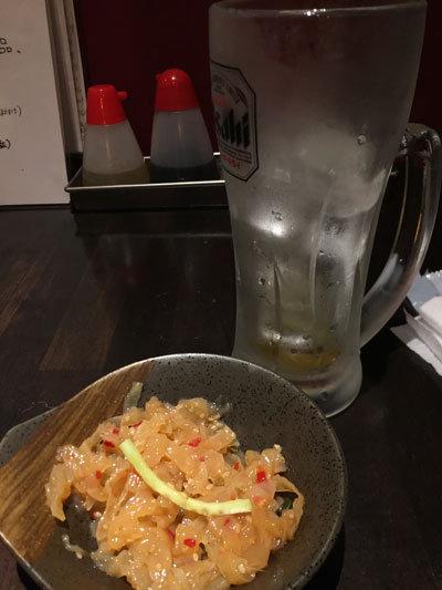 姫路 のれん街 ガンガングビグビ本舗 ウーロン茶