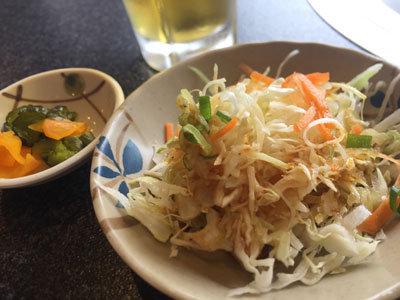 姫路 焼肉 味園 サラダ