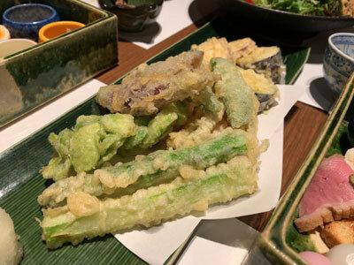姫路 播磨旬菜 菊屋 季節の天ぷら