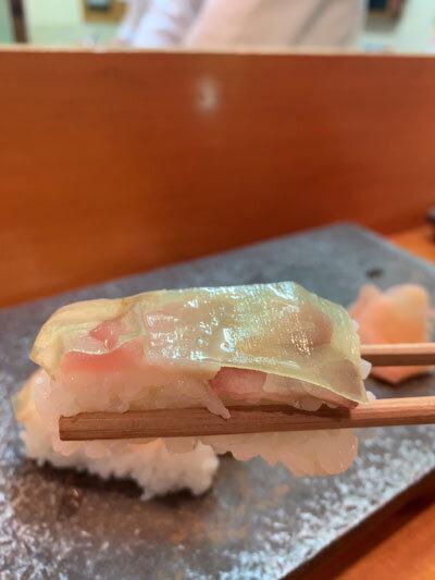 姫路 寿司 田吾作 バッテラ
