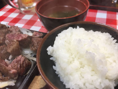 姫路 ステーキ まるまさ ランチ