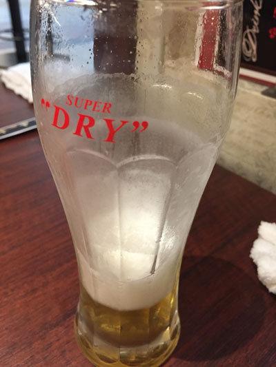 姫路 ステーキ&ハンバーグ 富士亭 生ビール