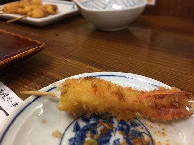 姫路 焼き鳥 一番 串かつ 海老