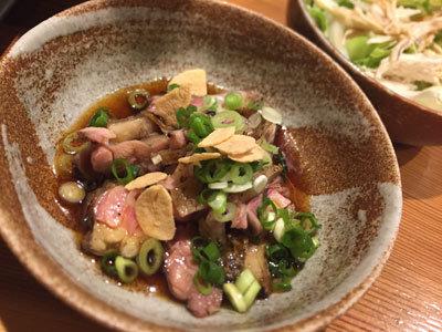 姫路 野里 とり料理 はしもと ひねタタキ