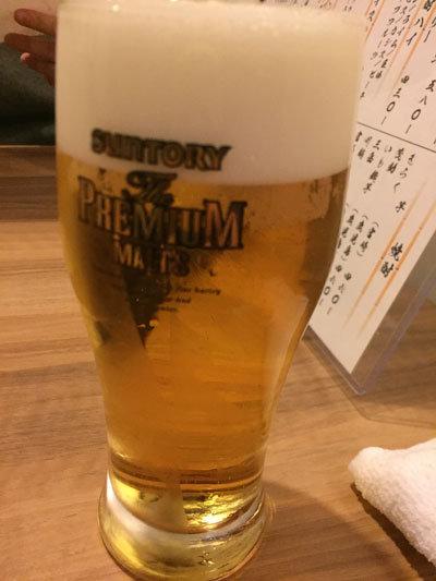 明石 ひらじい ランチ ビール