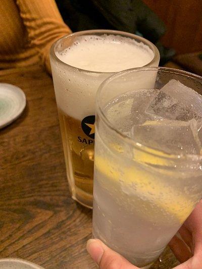 大阪 大衆酒場 はせ川 チューハイ