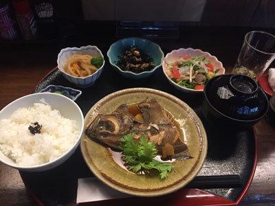 姫路 おばんざい 安愚楽 日替り定食