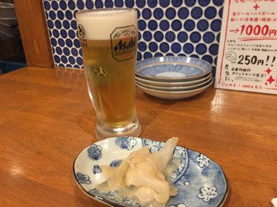 姫路 フェスタバル 2018 姫路酒肴 魚寿司 生ビール