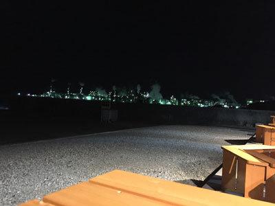 網干 工場の夜景