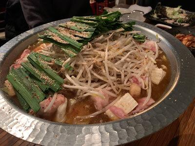 明石 麺や 一福 もつ鍋