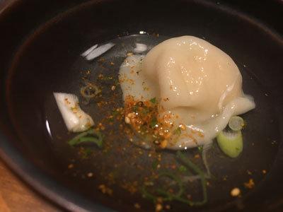 姫路 薩摩魚鮮水産 あご出汁 水餃子