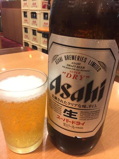 姫路 餃子の王将 駅前店 瓶ビール
