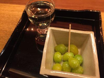 日本酒 ゴーアラウンド神戸 割烹料理 江川 ぎんなん
