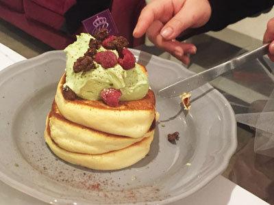 姫路 Cafe Rei ピスタチオパンケーキ