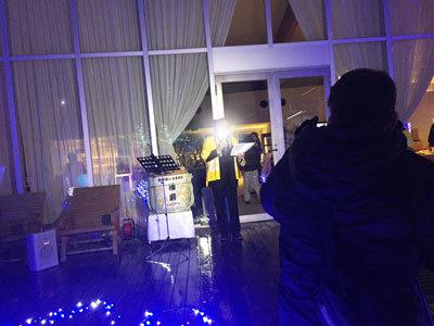 ホテル リラクシア 冬のイベント セレモニー