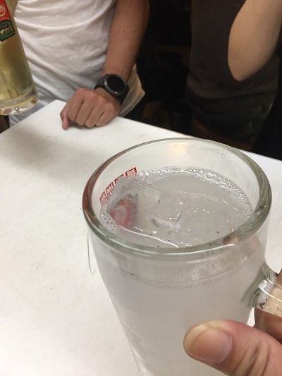 新梅田食堂街 立呑み 大阪屋 カルピスチューハイ