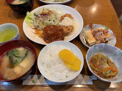久留米 お食事処 味川 日替り定食