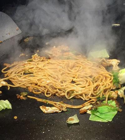 姫路 釜谷製麺 自家製麺 焼きそば