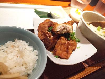 姫路 アジアンダイニング 金魚蘭 唐揚げ