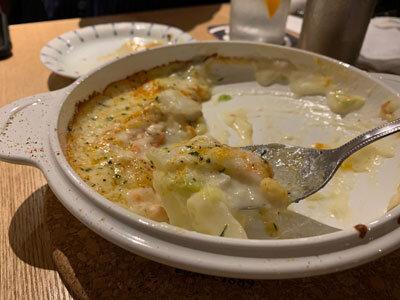 加古川 小料理酒房 みやもと チーズグラタン