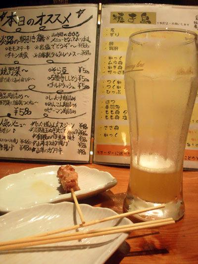 神戸 焼き鳥 鶏の拙者 宴 カウンター