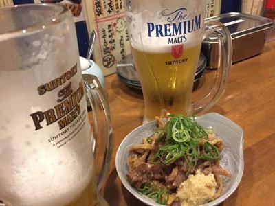姫路 のれん街 おでんと串かつ 姫路のお店 生ビール
