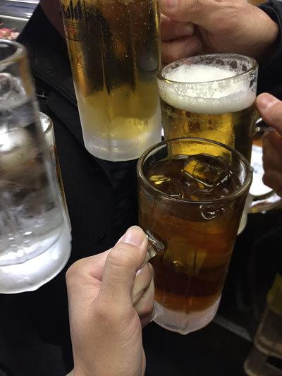 姫路 明石 神戸 Bloger 忘年会 2017 乾杯
