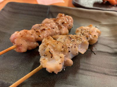 姫路 焼き鳥 鶏屋製作所 串 塩