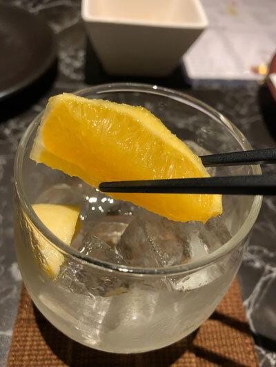 姫路 創作料理 夢番地 サングリア ロック