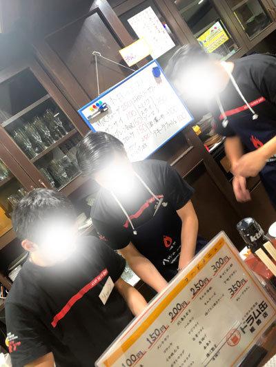 姫路 立ち飲み酒場 ドラム缶 スタッフ