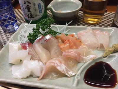 姫路 家島の魚 番屋 お造り盛合わせ
