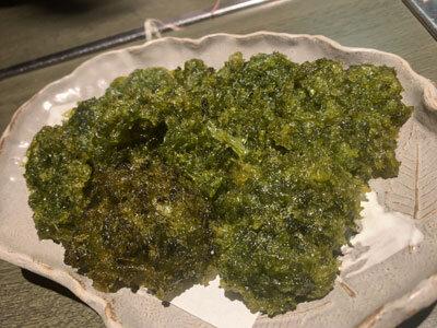 姫路 魚町 土佐料理 よさこい のり天ぷら